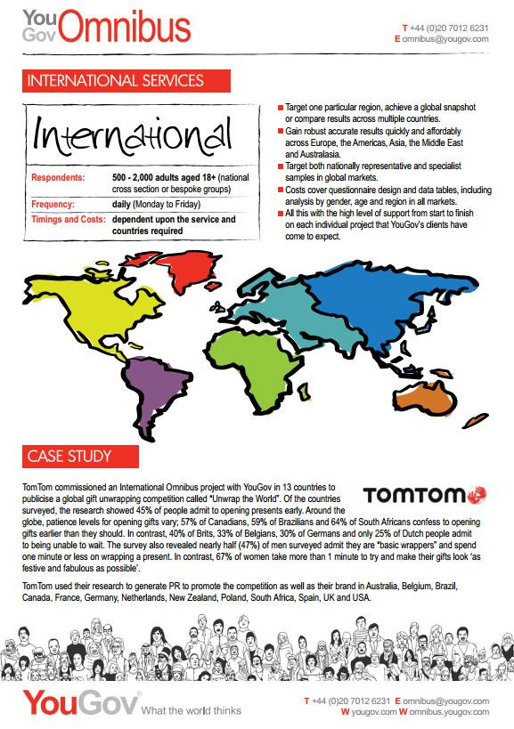 International Omnibus Rate card image