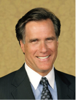 Picture shown of Romney