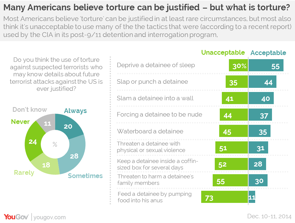 Essay on torture being justified