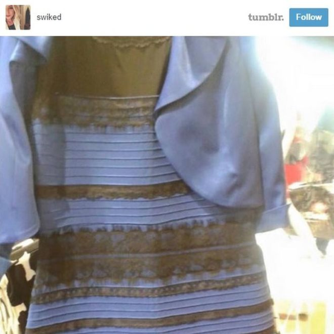 8d688e8bf8 The nation s verdict on the dress that s divided the internet  74% blue and  black