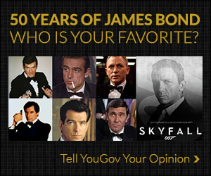 50 years of James Bond - Who is your favorite?