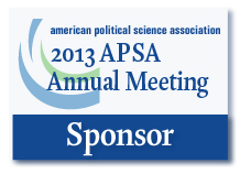 2013 APSA Annual Meeting Sponsor Logo